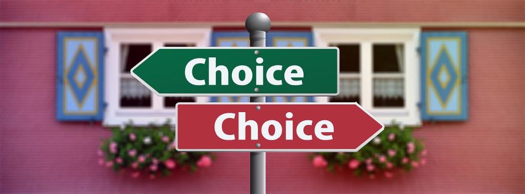 La capacità di scegliere comporta avere coraggio!